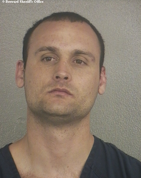 Leclerc was one of about two dozen people arrested on Valentine's Day in South Florida on charges related to domestic violence.
