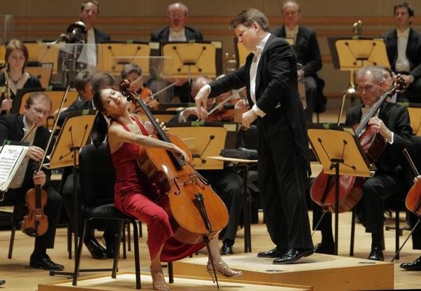 "Cellist Sophie Shao joins conductor Keith Lockhart and the BBC Concert Orchestra for Elgar's famous Cello Concerto. <br><a href=""http://www.latimes.com/entertainment/arts/culture/la-et-cm-bbc-concert-orchestra-review-20130214,0,7056854.story"" target=""blank""><b>REVIEW: </b>The usually inventive BBC Concert Orchestra goes retro</a>"