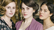"Laura Carmichael may be a lady on ""Downton Abbey,"" but she doesn't have one of the more glamorous roles on the series: She plays Lady Edith Crawley, a mousy, sharp-tongued girl surrounded by two bewitching sisters."