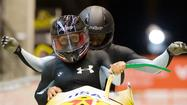 Aja Evans ended her rookie year as a bobsled pusher with her best World Cup finish.