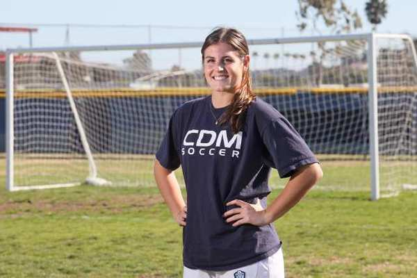 Corona del Mar High senior girls' soccer player Karsten Sigband is the Daily Pilot High School Athlete of the Week.