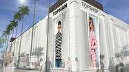 Topshop arrives on the West Coast, opening a Los Angeles flagship