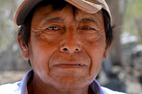GET CLOSER: Don't leave the viewer to guess what you think is most important in the frame. And don't tell yourself you can crop the image later. Get in there and fill the frame (and of course, it's best if you say hello and explain yourself first). This is Hermenegildo Castro, a worker near Merida in Yucatan, Mexico.