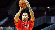 HOUSTON — Remember the good ol' days, the times when the main buzz surrounding Derrick Rose at All-Star weekend was why he didn't dance during pregame histrionics like his Eastern Conference teammates?