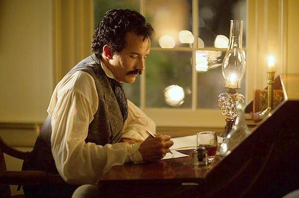 "Jesse Johnson stars as John Wilkes Booth in ""Killing Lincoln."""
