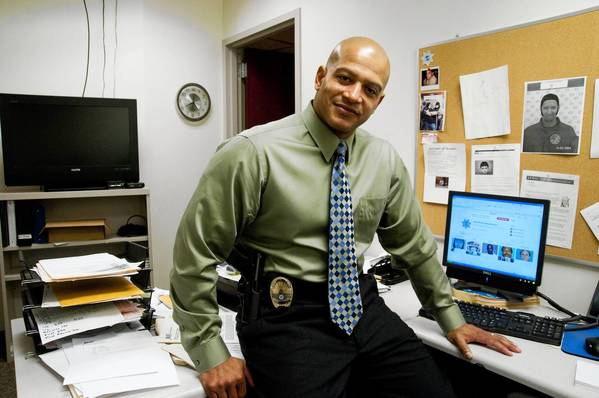 """It's our version of 'America's Most Wanted,' but on social media,"" says Joliet police Detective Sgt. Darrell Gavin of the department's new Pinterest page."