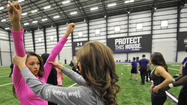 Baltimore Ravens cheerleading clinics [Pictures]
