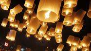 Sky lanterns, banned in Md., illuminate winter celebrations