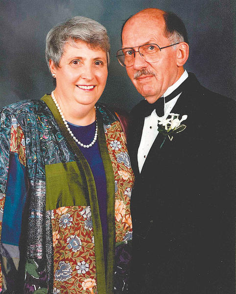 This photo of Wilda and Francis Gift was taken at a wedding in 1993.