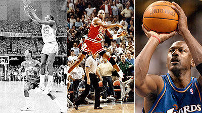Michael Jordan's 50 most memorable points