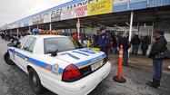 As regulars perused handmade jewelry, discounted bedsheets, slightly-worn stuffed animals and other knick-knacks, dozens of Baltimore County police officers swarmed into a bustling Dundalk flea market Saturday morning to bust vendors allegedly selling counterfeit merchandise.
