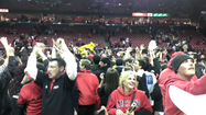 RAW VIDEO Terps fans celebrate win over Duke