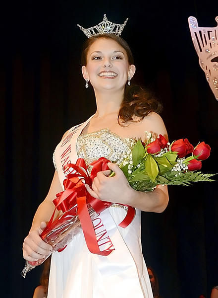 Paige Dutrow, 18, of Boonsboro, won the title of Miss Washington County.