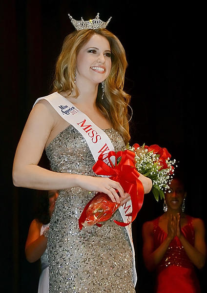 Taking the title of Miss Western Maryland was Christina Marie Denny, 22, of Owings Mills, Md.