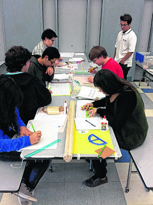 Local MESA students work on their projects during the MESA Day Academy at Kennedy Middle School in El Centro.