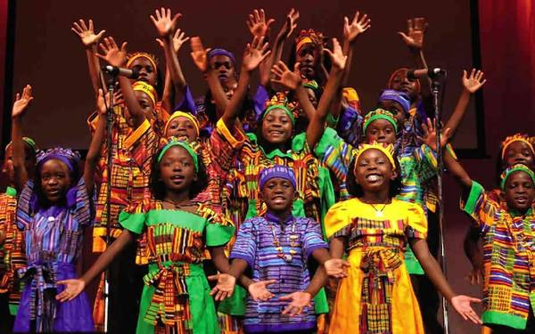 The Watoto Children's Choir.