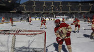 Hockey at Soldier Field