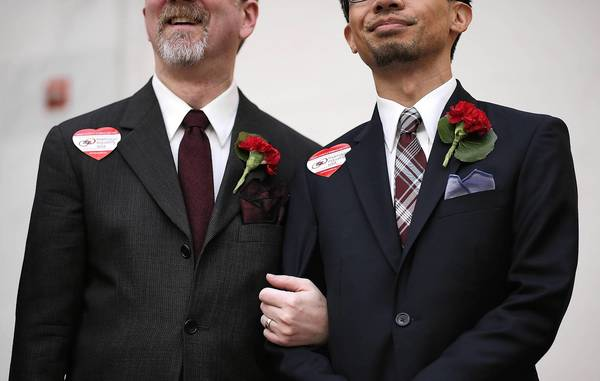 Public support for same-sex marriage is growing.