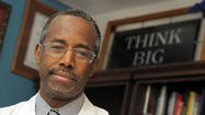 Controversial address vaults Hopkins' Carson into political arena