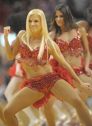 Photos: Miami Heat Dancers in action - Miami Heat Dancers at Arena