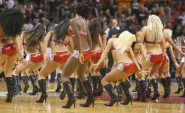 <b>Photos:</b> Miami Heat Dancers in action - Miami Heat Dancers