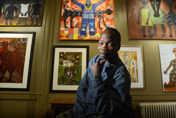 The Still Life Gallery in Ellicott City lands a big name with a show by artist, Ephrem Kouakou. Originally from the Ivory Coast, Kouakou, now lives in Baltimore, and has his work shown at the Metropolitan in New York, and the Smithsonian in Washington.