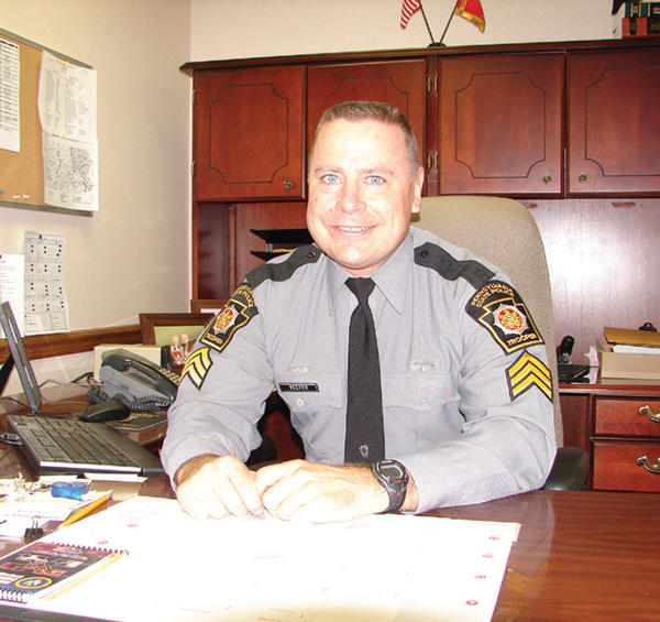 Pennsylvania State Police Sgt. Greg P. Keefer is the commander of the Somerset station.