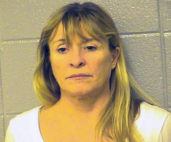 Elaine Cook, accused of biting off part of her boyfriend's tongue during an argument on Valentine's Day.