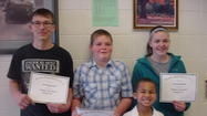 Waubay School students of the month