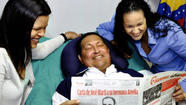 Hugo Chavez back in Venezuela after months in Cuba for cancer treatment