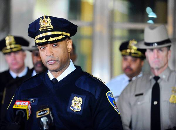 Police Commissioner Anthony W. Batts speaks in the wake of a police training shooting.
