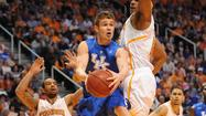 KNOXVILLE, Tenn. — Jarrod Polson has been known for giving Kentucky a lift off the bench this season. Even in times of adversity, Polson did his best to make a difference.