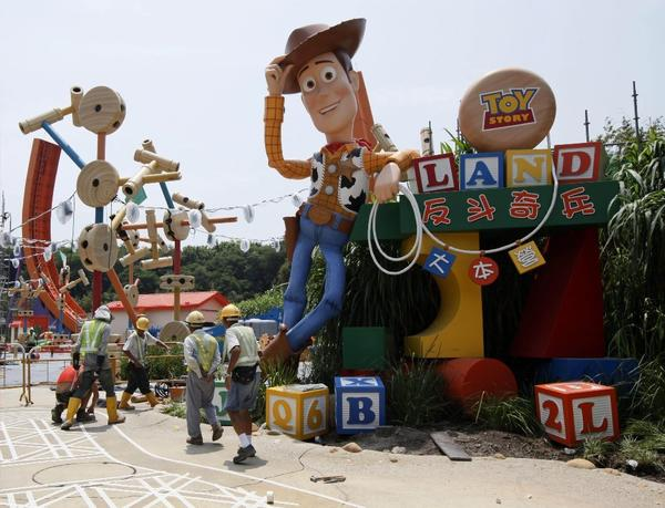 The addition of Toy Story Land helped Hong Kong Disneyland turn a profit last year for the first time since its opening in 2005.