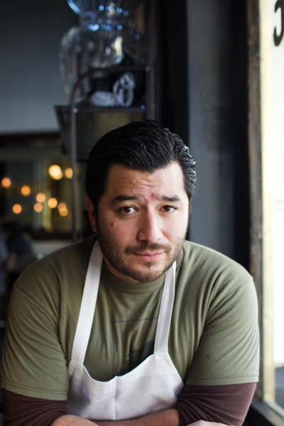 Josef Centeno is chef-owner of downtown restaurants Baco Mercat and Bar Ama.