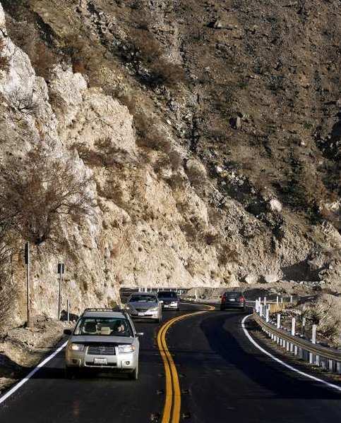 Roads leading to the Angeles National Forest will close late Monday night.