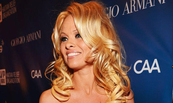Actress Pamela Anderson, shown here at the 2nd Annual Sean Penn and Friends Help Haiti Home Gala at Montage Hotel on Jan. 12, 2013, has her beach house listed at $7.75 million.