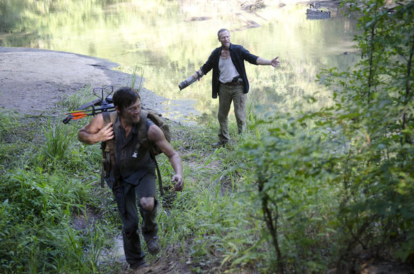 'The Walking Dead': Norman Reedus and Michael Rooker
