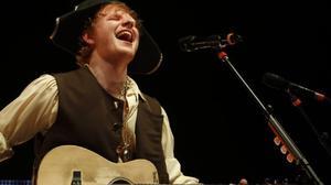 Review: Ed Sheeran celebrates his birthday at the Nokia Theatre