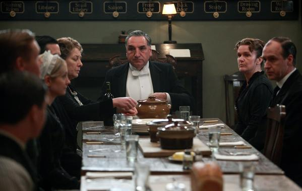"A scene from ""Downton Abbey."""