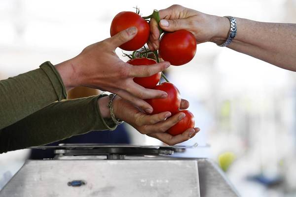 """Farmers markets are often great places to get sustainably farmed, """"green"""" and locally sourced foods."""