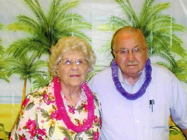 Cliff and Valerie Hagedorn of Des Plaines just celebrated their 70th wedding anniversary.