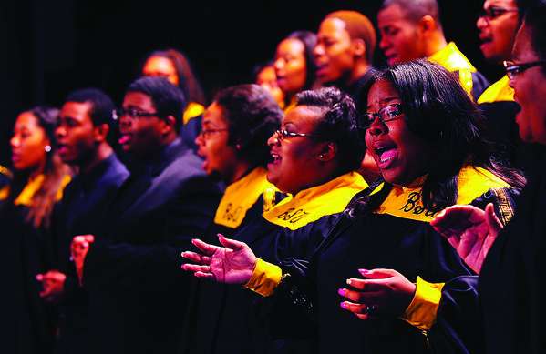 Friends of the Doleman Black Heritage Museum will present the Bowie State University Gospel Choir Saturday, Feb. 23, at The Maryland Theatre, 21 S. Potomac St., downtown Hagers-town.