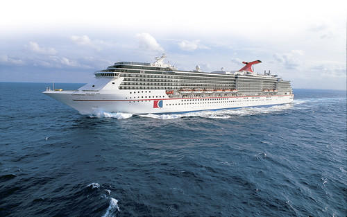 The Carnival Pride begins sailing from Baltimore to the Bahamas and the Caribbean in April.