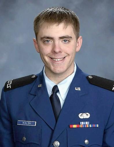 Cadet 4th Class James Walsh was found dead in the Air Force Academy Cadet Area in Colordo on Feb. 9, 2013.