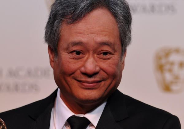 "Ang Lee picks up the cinematography award for Claudio Miranda for his work on ""Life of Pi"" at the British Academy of Film and Television Arts Awards in London."