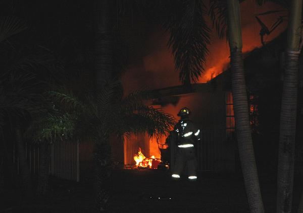 A Plantation family is looking for new accommodations after a fire damages their home