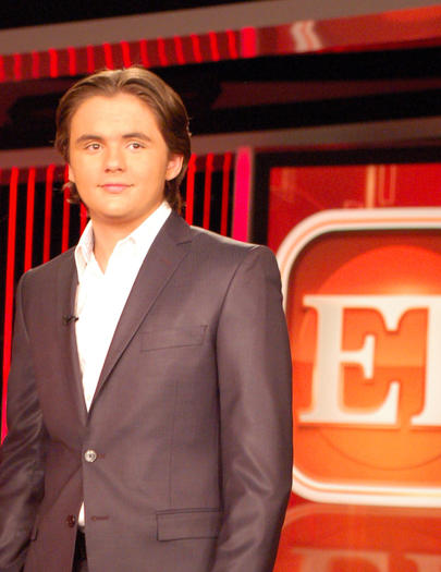 "Prince Michael Jackson, Michael Jackson's son, is working as a guest correspondent for ""Entertainment Tonight"""