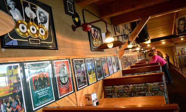 This is Roadies Restaurant at Penn's Peak. Penn's Peak, the concert venue near Jim Thorpe, turns 10 years old on Feb. 4.