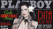 Burlesque Icon Dita Von Teese