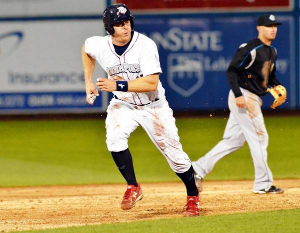 Erik Kratz played 37 games for the IronPigs in 2012, but was a valuable addition to the Phillies late in the season.